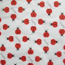 ladybug wrapping paper ladybug tissue 4 sheets 20 by 30 inches ladybug gift store llc
