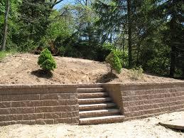 Atlanta Landscape Materials by Landscape Stone Walls Pictures For Backyard Landscaping Design