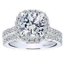 white gold halo engagement rings 14k white gold halo engagement ring er12559w44jj