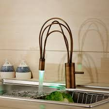 how do water powered led faucet lights work kitchen faucet with light