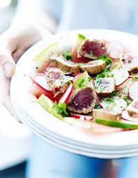 cuisine salade salade de pastèque tataki de thon pour 6 personnes recettes