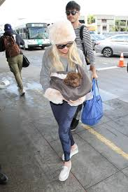 kristin chenoweth at lax airport in los angeles 01 13 2017