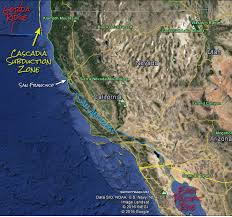 san francisco fault map the san andreas san francisco area roc doc travel