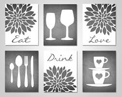 wall decor dining room dining room wall art etsy