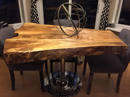 tree trunk dining table red dining table art design also coffee table marvelous cypress