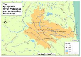 Map Of Saskatchewan The Qu U0027appelle River Watershed In Southern Saskatchewan Alanna U0027s