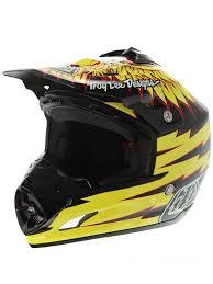 troy lee designs motocross gear troy lee designs black yellow 2016 se3 flight mx helmet troy lee