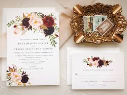 what to put on a wedding invitation what to put on wedding invitations inspirational marsala wedding