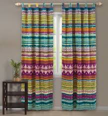 western tribal chevron stripe reversible cotton quilt and shams