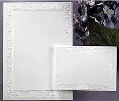wedding invitations embossed printable bulk wedding invitations