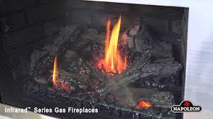napoleon ir3 xir3 infrared gas fireplace embers fireplaces
