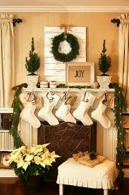 christmas decorating ideas fireplace mantel interior decorating