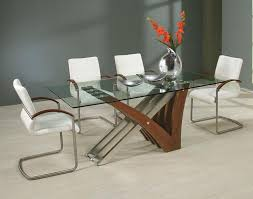 rectangular glass top dining room tables 39 modern glass dining room table ideas table decorating ideas