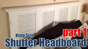 king size headboard ideas king size headboard part 1 cmrw 16 youtube