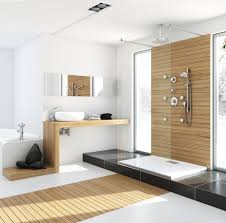 bathrooms for small spaces modern bathroom with unfinished wood