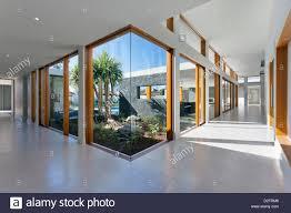 Home Design Interior And Exterior Luxurious Home Interior And Exterior In New Empty Mansion Stock
