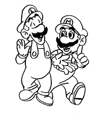 mario luigi coloring pages img 463714 gianfreda net
