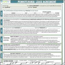 Notice Of Lease Termination By Landlord by Pennsylvania Lease Contract