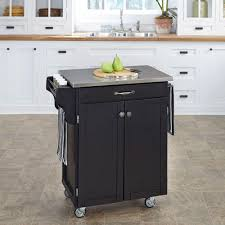 kitchen island stainless top uncategories rolling table cart kitchen storage cabinet on