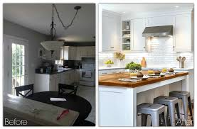 Kitchen Makeovers 30 Small Kitchen Makeovers Before And After Home Interior And Design
