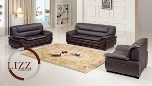 Leather Sofa Co Free Living Rooms Real Leather Sofa Set Intended For Wish With