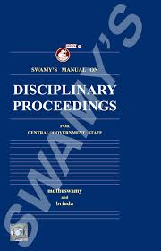 buy swamy u0027s manual on disciplinary proceedings for central