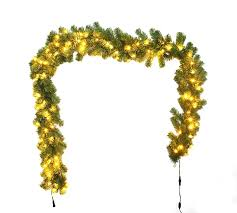 christmas garland with lights christmas garland pvc christmas garland christmas pvc garland