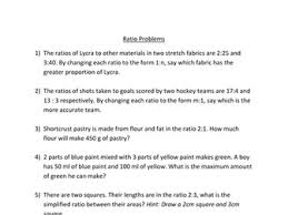 further ratio problems by fenners13 teaching resources tes