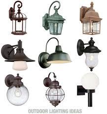 home depot exterior light choosing outdoor lighting from home