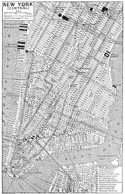 Map Of New York Cities by Of New York United States