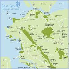 san francisco map east bay east bay regional park district map west region hike