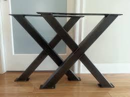metal table legs amazing coffee table legs metal metal table