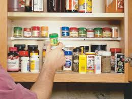 Spice Cabinet Organization Kitchen Storage Solutions How To Declutter Your Pantry And