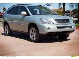 lexus rx 400h pictures 2007 bamboo green pearl lexus rx 400h awd hybrid 112058756