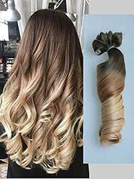 ombre hair extensions uk 22 clip in hair extensions ombre wavy curly dip dye 6