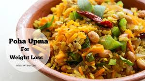 poha upma for weight loss healthy indian meal diet plan to lose