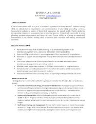 Psychology Internship Cover Letter by Clinical Psychologist Resume Resume For Your Job Application