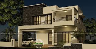 contemporary house plans flat roofcontemporary flat roof single