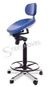siege ergonomique assis debout steelnovel siege assis debout semisitting à assise inclinable