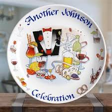 personalized wedding platters inch celebration platter personalized wedding gift or birthday gift