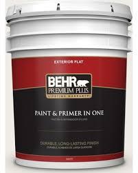 behr silky white great deal on behr premium plus 5 gal ppu7 12 silky white flat