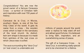 gift a caravaca cross pendant or necklace meaning fortune and