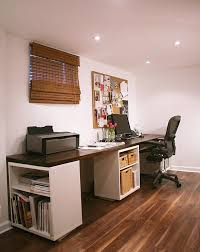 Diy Pallet Computer Desk Picture Charming Retro Home Office by 20 Diy Desks That Really Work For Your Home Office Desks Ikea