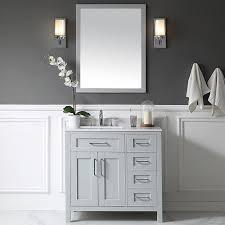 Vanity Set Bathroom Ove Decors Tahoe 36 Single Bathroom Vanity Set With Mirror In