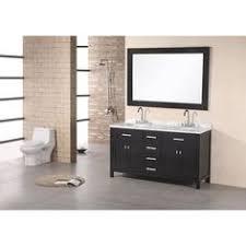 48 Inch Double Sink Bathroom Vanity by Virtu Usa Gloria 48 Inch Grey Double Sink Bathroom Vanity Cabinet