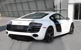 Audi R8 White - just 50 available 2012 audi r8 exclusive selection edition