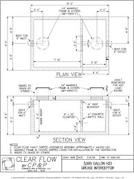 grease trap design drawings probrains org