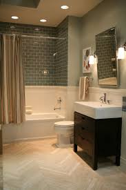 105 best bathrooms images on pinterest bathroom ideas home and this idea but with the grey subway tile and different color bamboo floor