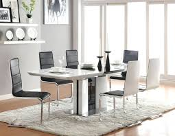 Upscale Dining Room Sets Fancy Dining Room Sets Modern Round Table With 8 Black And White