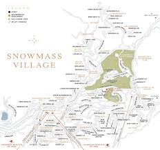 Real Estate Map Snowmass Village Colorado Town Map Aspen Snowmass Real Estate